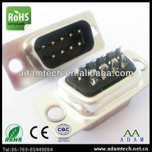 d-sub db 9 pin vga male connector