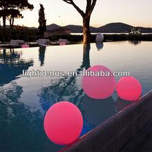Colorido e de alta qualidade Led jardim bola forma da lâmpada