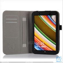 Folio leather tablet case for Toshiba Encore