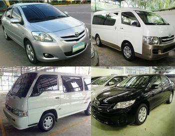 Car and Van Rental Service in Metro Manila, Philippines - Mobeline