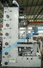 ZBS-450 6 colors flexo label printing machine
