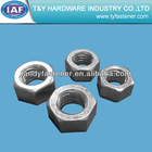 metric Crose /Fine thread Hex nuts din 934 stock