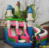 fancy eagle dragon commercial inflatable slide