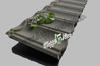 Shingles solar colored metal roof tile