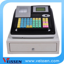 black and white cash register with hourly/daily/monthly/quaterly reports