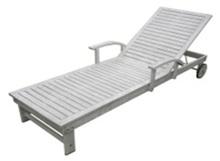 Wooden outdoor Furniture/ Wooden sun lounger