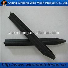 1.65m length black bituminous paint Y post (Professional factory )