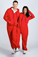 zip off detachable couple onesie wholesale