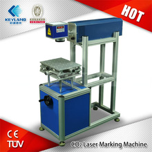 No consumables and minimal maintenance co2 laser marking machine