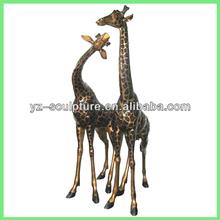 garden large giraffe metal sculpture BASN-A061