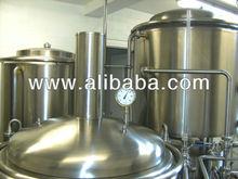 Used FLECKS micro brewery, stainless steel, 250 l beer/brew