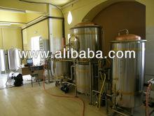Used FLECKS micro brewery, stainless steel + copper, 300 L beer/brew