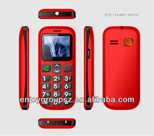 Basic 3G Senior Mobile Cell Phone, LED Torch, One Key SOS Dial out, Multi-language