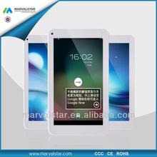 2014 Tablet 7inch Super Slim Dual core RK3026 1024*600pixel panel 1G/8G dual cameras CE FCC Rohs
