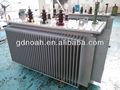 1600 tres kva voltaje de la fase de aceite usado del transformador de distribución