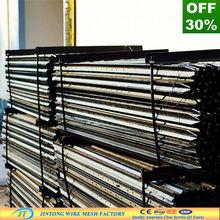 """black bitumen coating 165cm or 5'6"""" Steel Picket"""