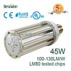 45w led corn light e27 e40 360 degree Samsung LED 5 years warranty