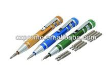 3 piece pen style aluminum tool pen /outdoor tool