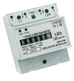 din rail energy meter russian model