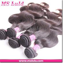High quality black indian virgin remy wet n wavy human hair bulk