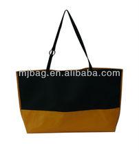 shopping bag factory bags canvas black yellow shopping bag