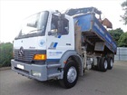 Stock#10723 MERCEDES ATEGO 2628 6X4 TIPPER/GRAB USED TRUCK FOR SALE [RHD][JAPAN]