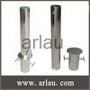 304 316 stainless steel retractable bollard