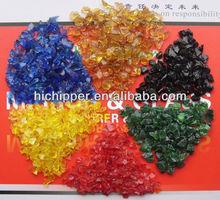 Terrazzo farbigem glas-chips