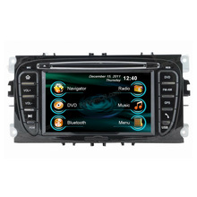 6.2'' Lcd Touch Screen Car DVD Player With GPS Navigation/Bluetooth/Ipod/Radio for Ford Mondeo