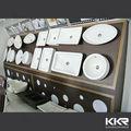 Kingkonree pedra pia, banheiro pia de pedra, lavagem de pedra bacia