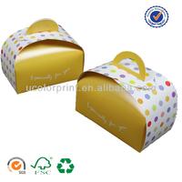 custom design cupcake boxes for wholesale
