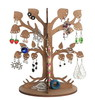 2014 hot sell eco friendly Wood earring tree/wooden holder made in China