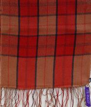 Check Designed Pashmina 70/30 Scarves & Shawls With Hand Twisted Fringes