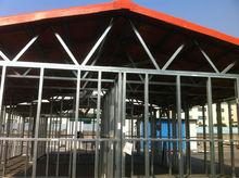 prefabricated house gable roof