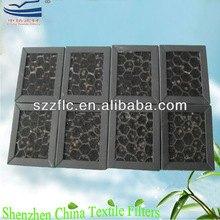 Odor Removal honeycomb activated carbon filter