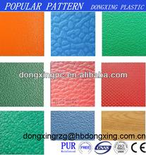 PVC sports floor plastic mats Sprung floor