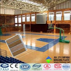 wood texture indoor pvc basketball flooring