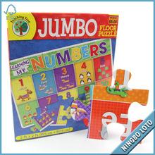Jumbo alfabeto bambino puzzle per l'insegnamento albero