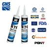 silicone tube plastic intumescent sealant