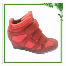 2014 Hidden Wedge Heel Fashion Women Sneakers
