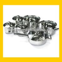 professional stainless steel prima cookware /prestige nonstick cookware set
