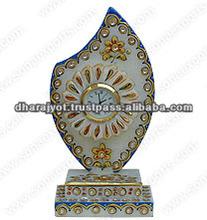 Decorative Marble Trophy Clock