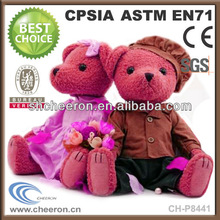 Wonderful wedding gift for client plush toy teddy bear