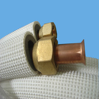 PVC coated air conditioning copper tube