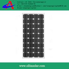 130w panel solar, low price oem solar panel products