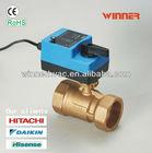 stepper motor operated 0-10v modulating valve