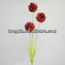 67148 silk cloth flower head single stem and silk leaves look real and touch real leather flower shoes decoration
