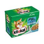KiteKat Pouch Fish 12 x 100g x 4