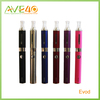 2014 Most popular bottom coil clearomizer colored rebuildable evod tank evod battery evod double kit