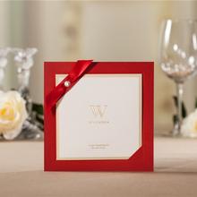 high-quality laser cut wood wedding invitation cards